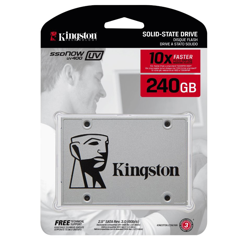 Ổ SSD Kingston UV400S37 240Gb SATA3