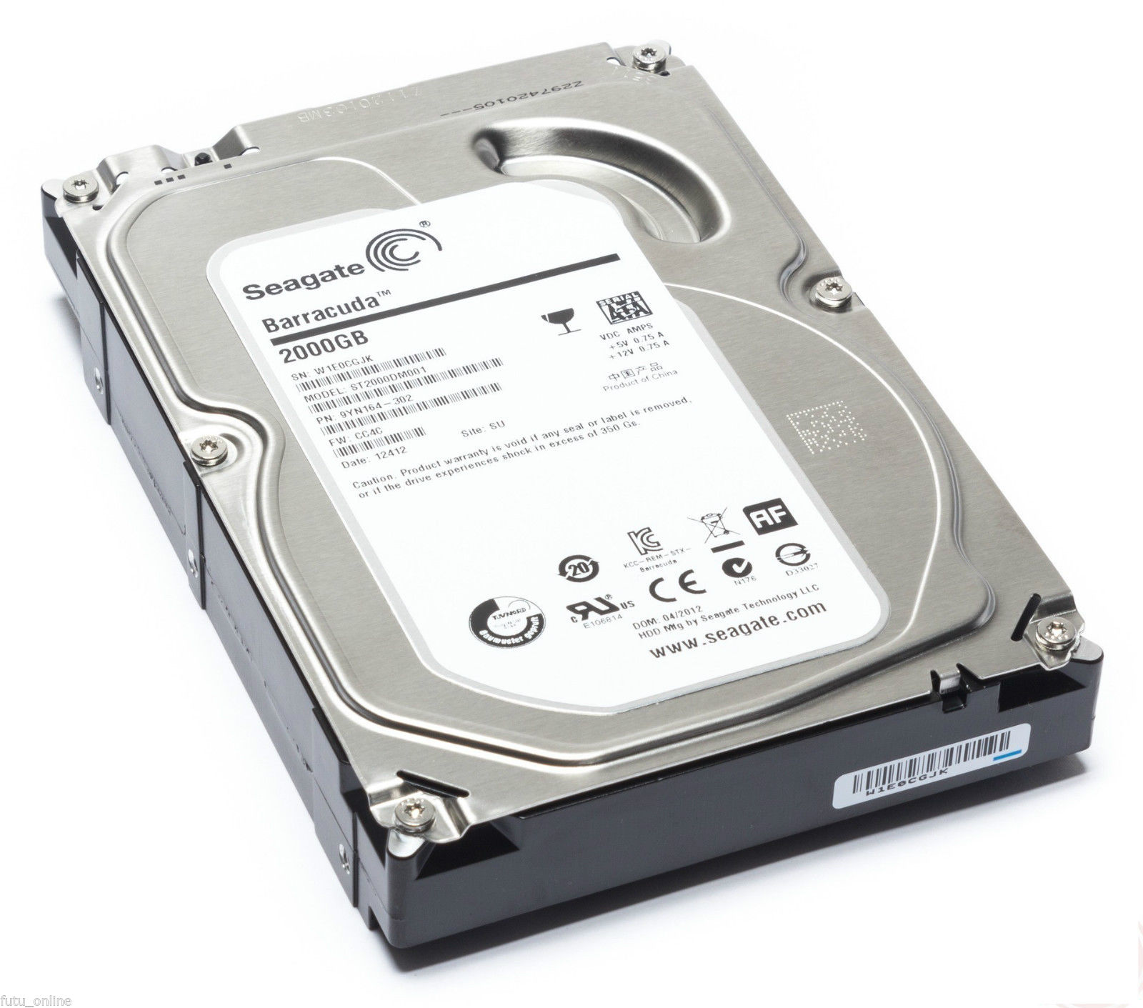 Ổ cứng HDD Seagate BarraCuda 2Tb 7200rpm 256Mb