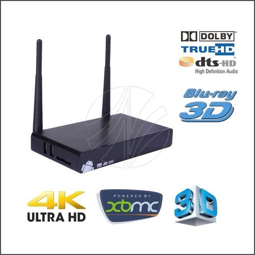 Android TV Box Chíp Lõi Tứ VMX-V7 Pro Quad-Core
