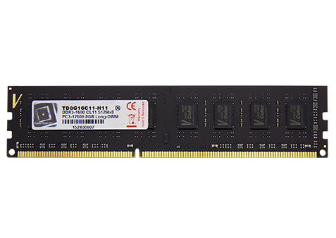 Ram V-COLOR DDR3 8GB bus 1600MHz